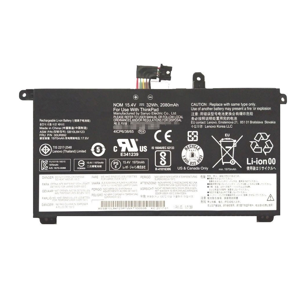 Lenovo ThinkPad T570 T580 P51S... Battery