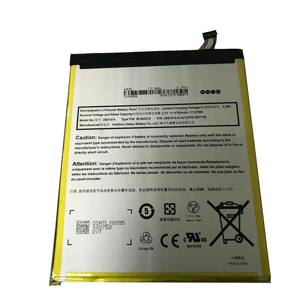 Amazon 58-000181 26S1014-Y 1IC... Battery