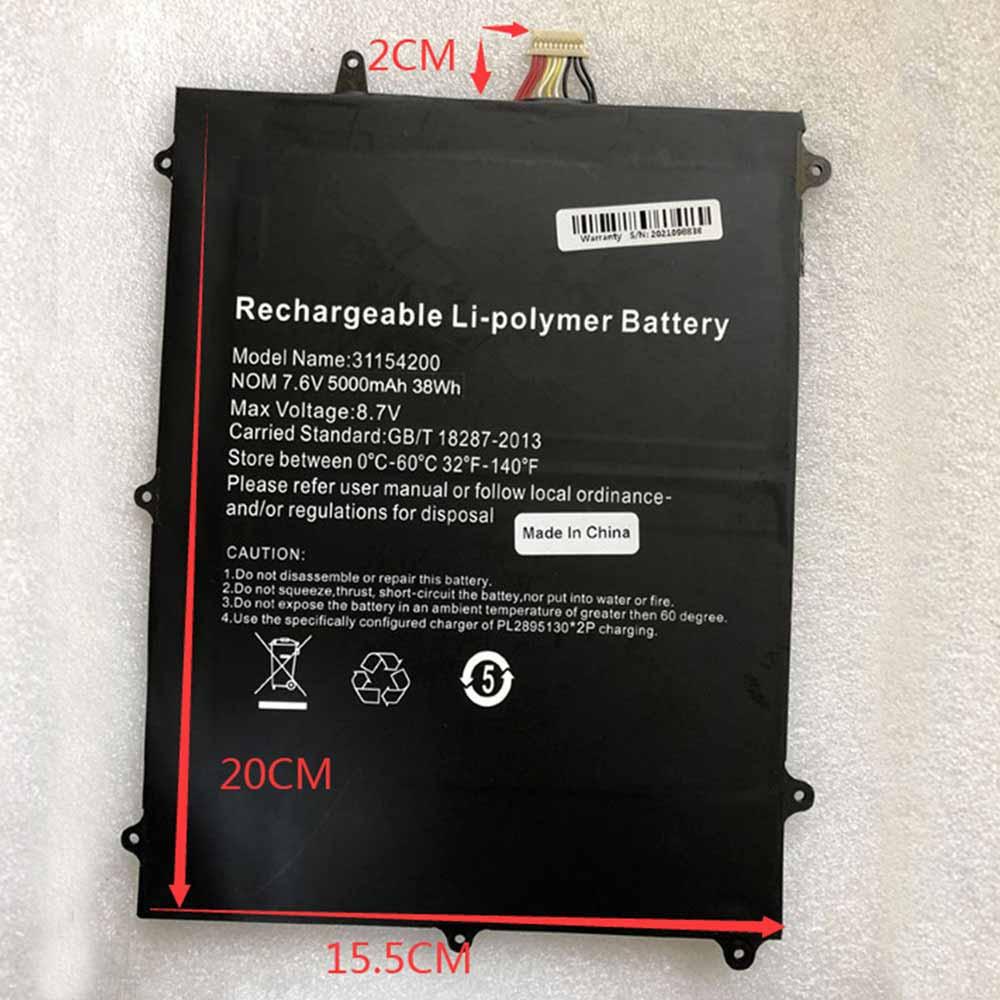 TECLAST F6 PRO table battery