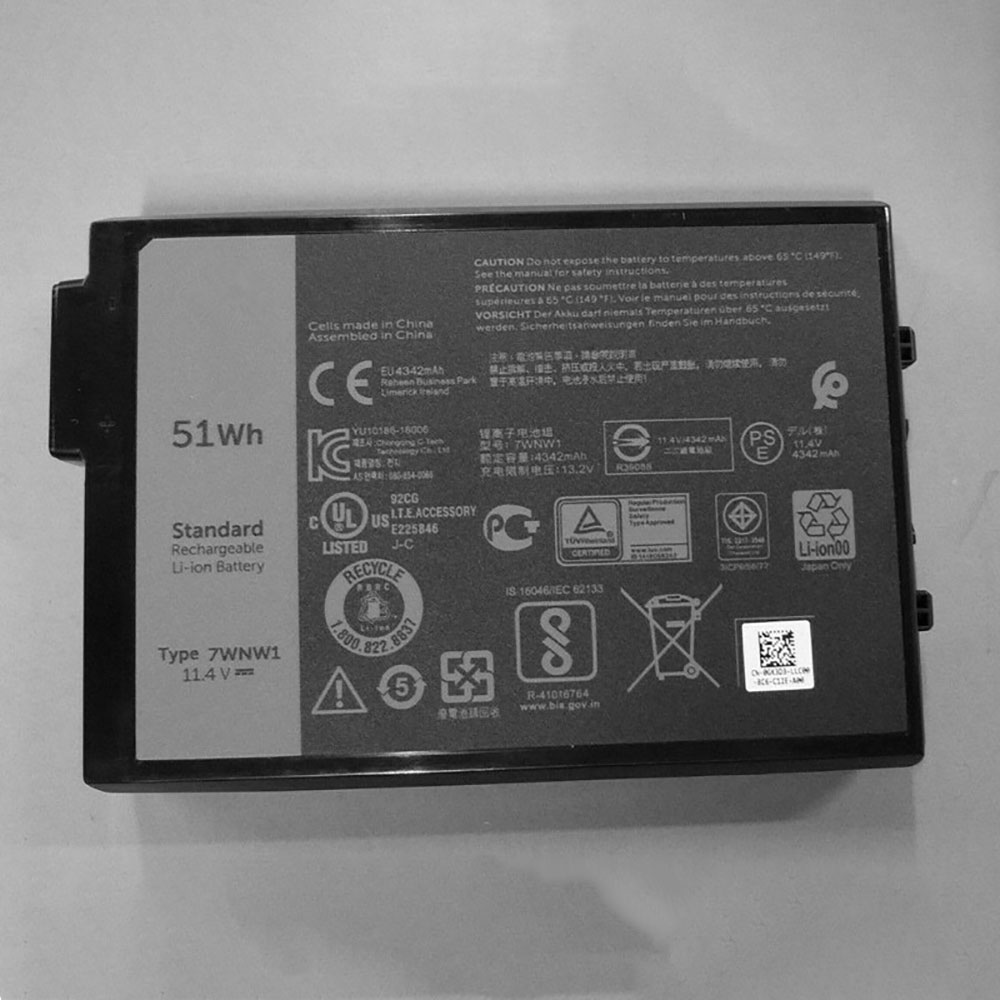 Dell Latitude 7424 5424 5420 Rugged battery