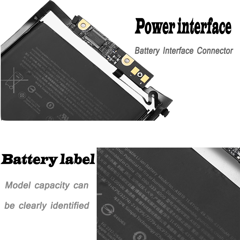 Apple MacBook Pro 13 inch A1706 2016 battery
