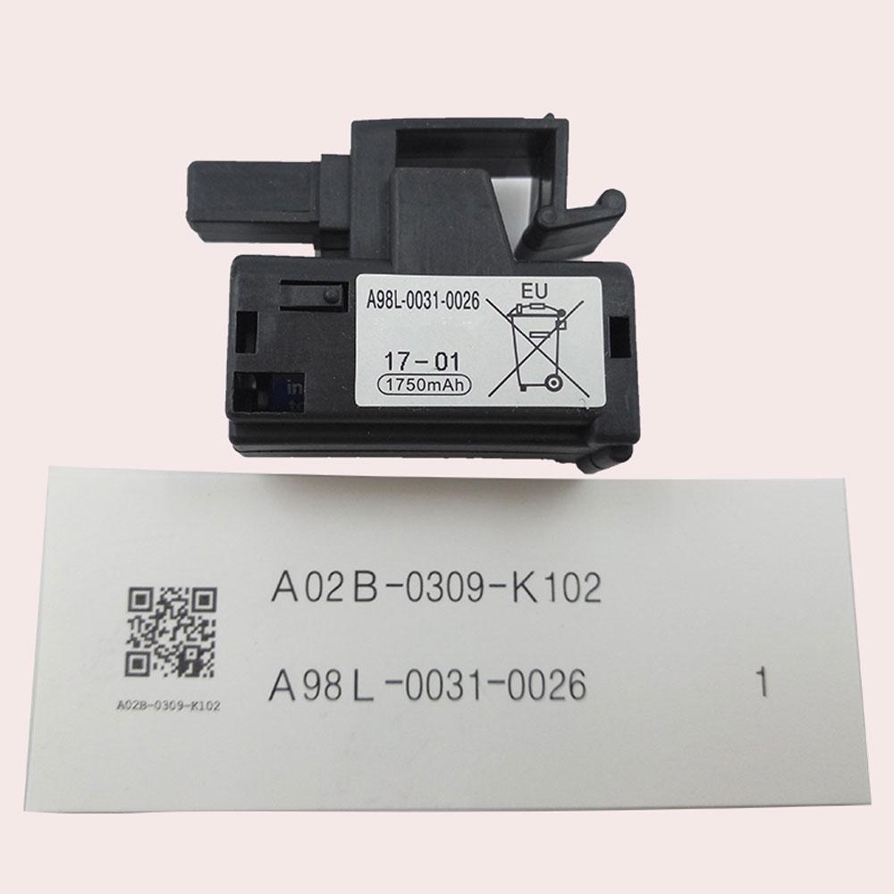 Fanuc Controls BBAG8 A02b 0309 k102 battery