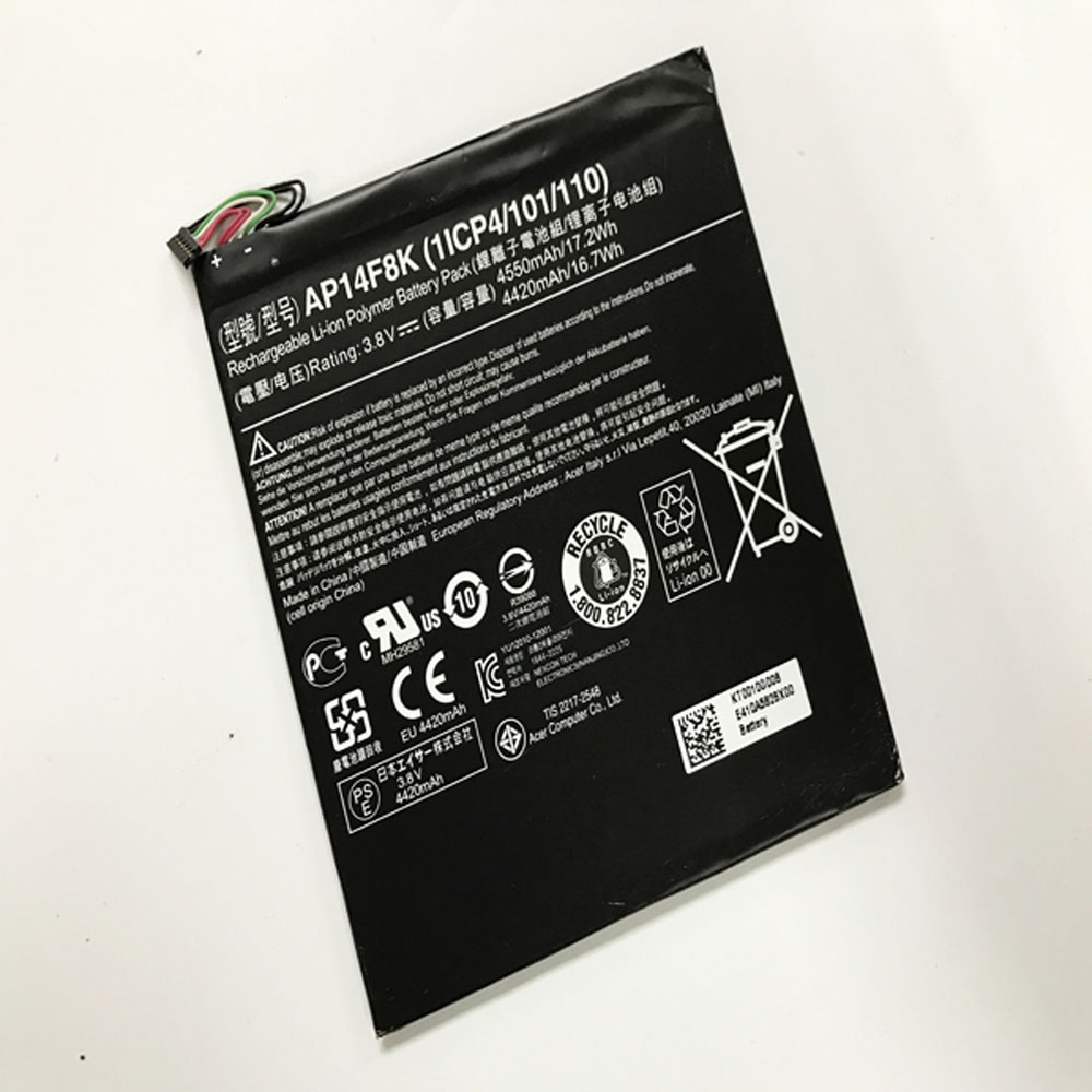 Acer Iconia One 7 B1 750 KT.0010G.007 battery