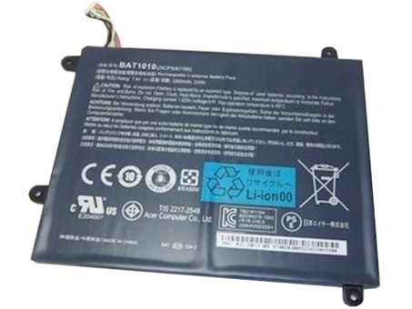 Iconia Tab A500 A500-10S16u A5... Battery