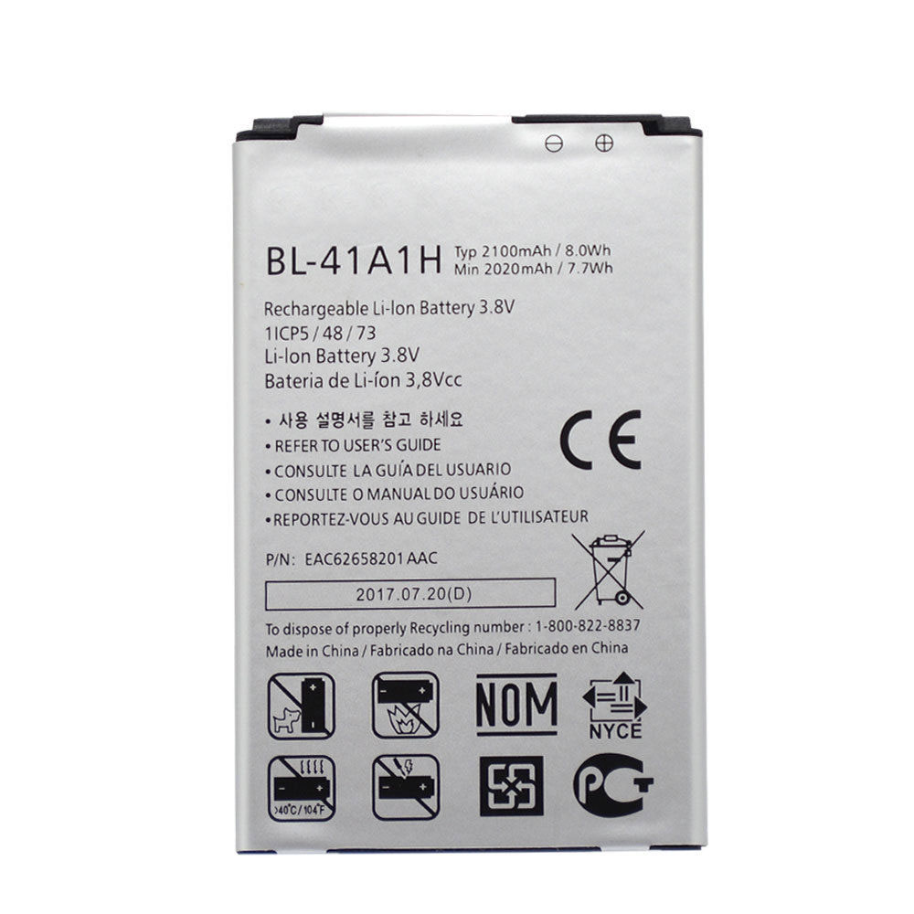 LG Optimus F60 MS395 D390N Tri... Battery