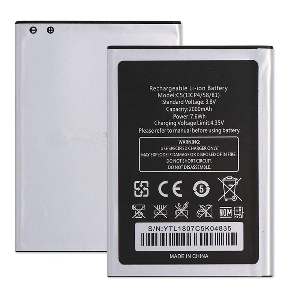 Oukitel C5 pro battery