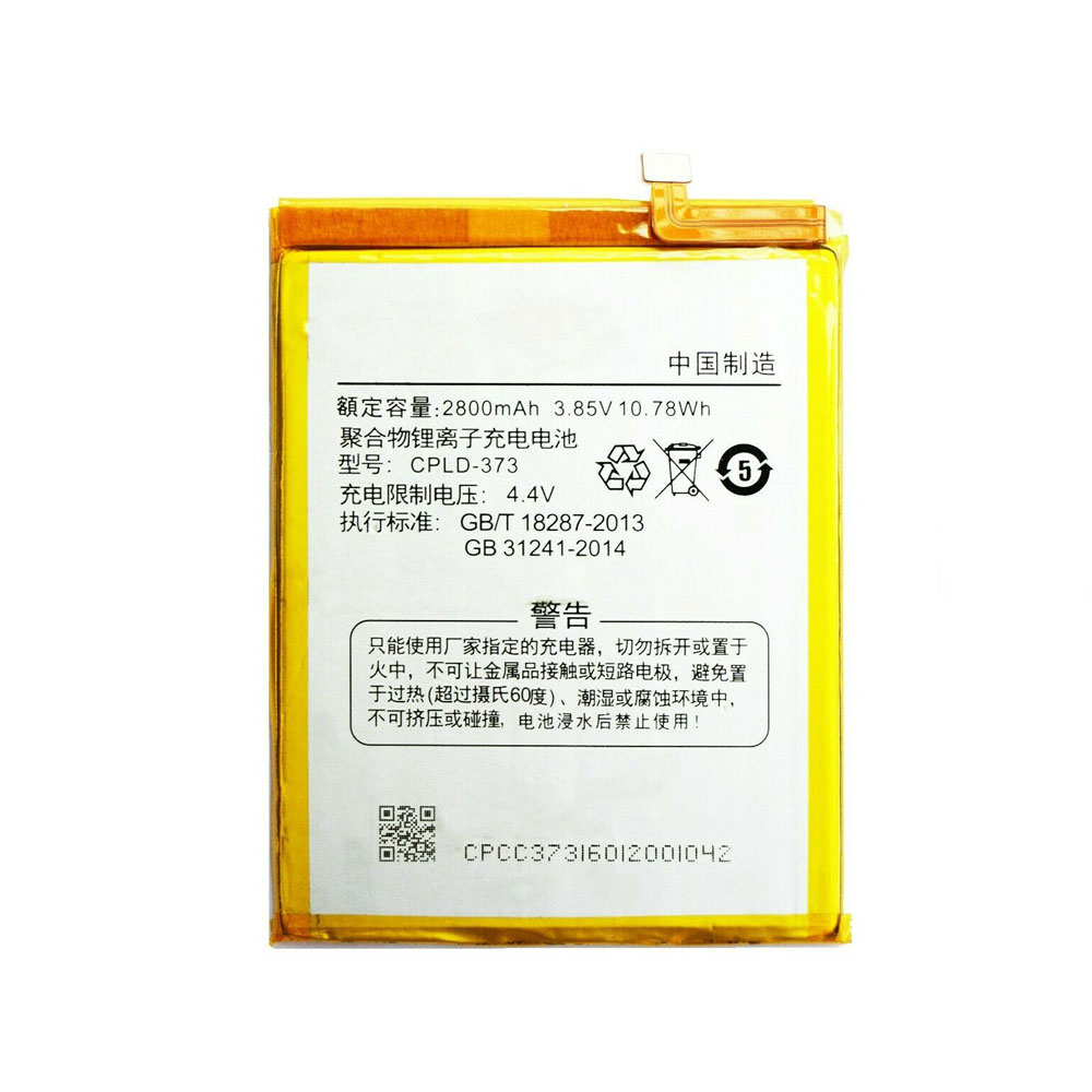 Genuine Coolpad CPLD-373 Li-ion Cell Phone battery, Brand