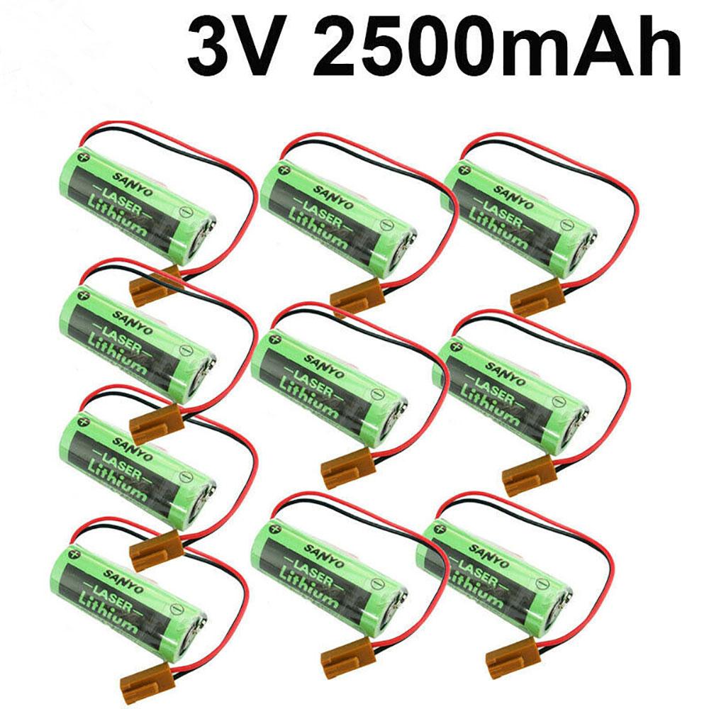 SANYO A02B 0200 K102 A98L 0031 0012 10PCS Brown Plug battery