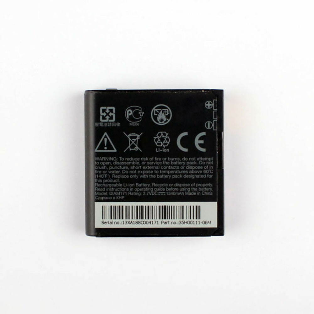 HTC Touch Pro T7272 T7278 XV6850 XV6950 battery