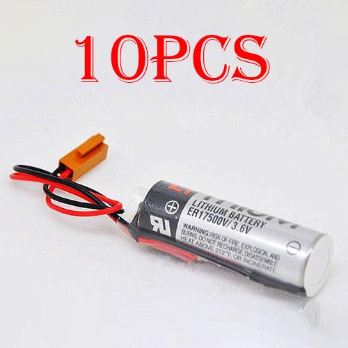 10pcs TOSHIBA ER17500V ER17/50... Battery