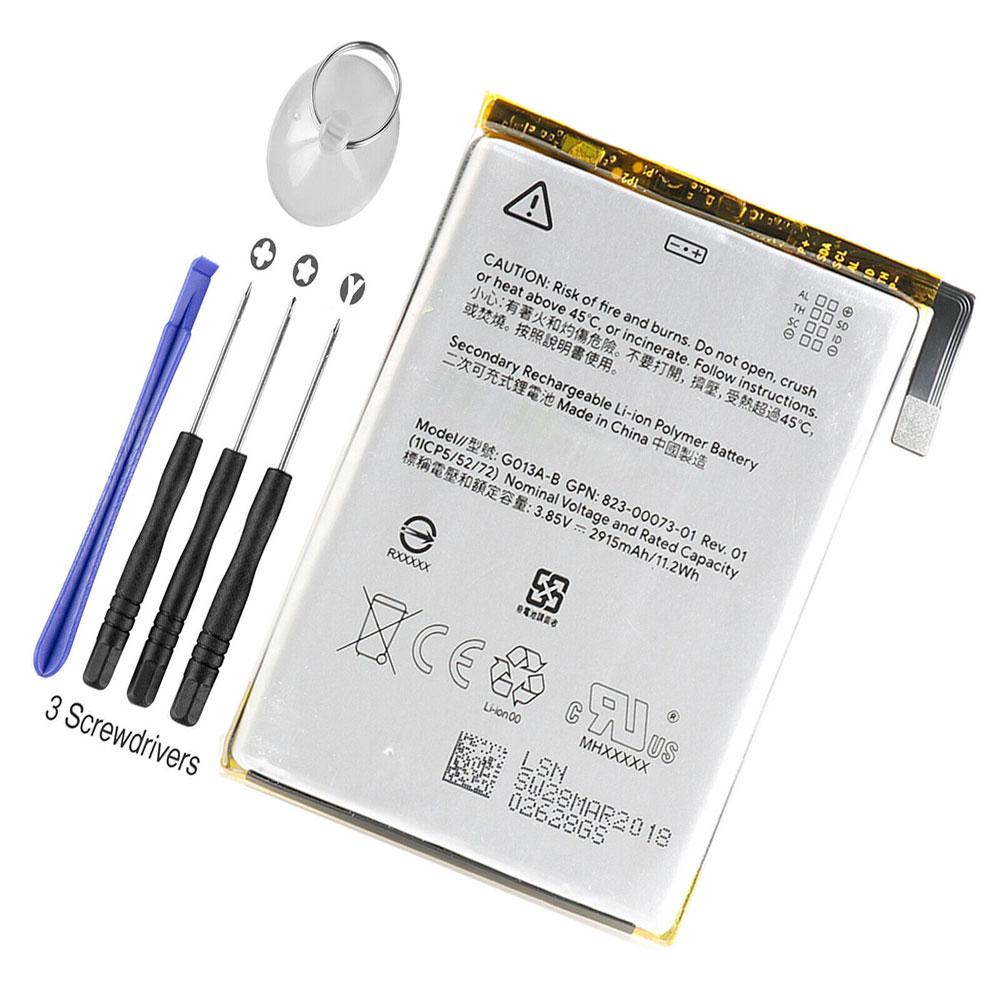 Google Pixel 3  Tools battery