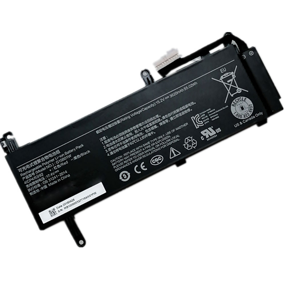 Xiaomi Gaming Laptop 15.6 7300HQ GTX1050 GTX1060 battery