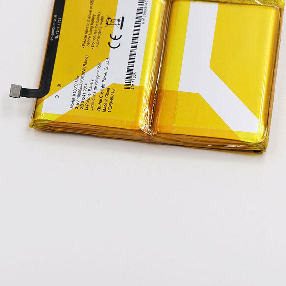 K10000MAX battery