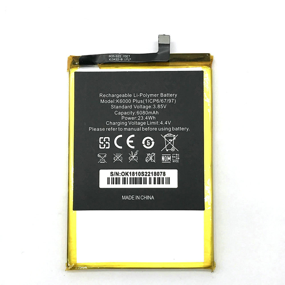 Oukitel K6000 Plus battery