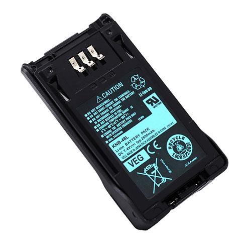 Kenwood NX 200 NX 300 P25 TK5220 2pcs battery