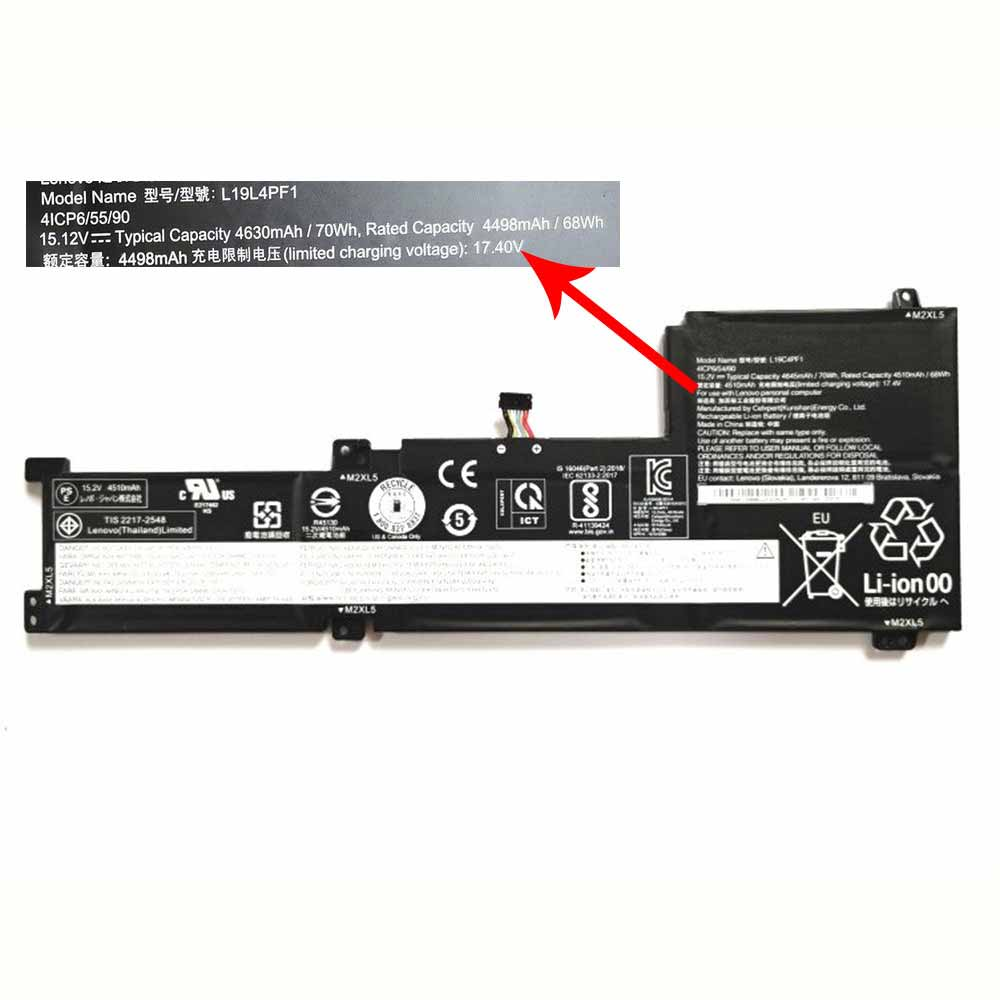 Lenovo Ideapad 5 15IIL05 Xiaoxin 15 2020 battery