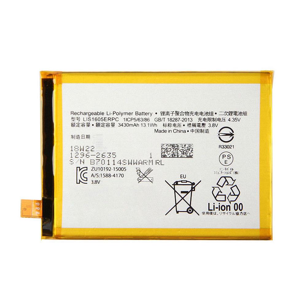 LIS1605ERPC battery