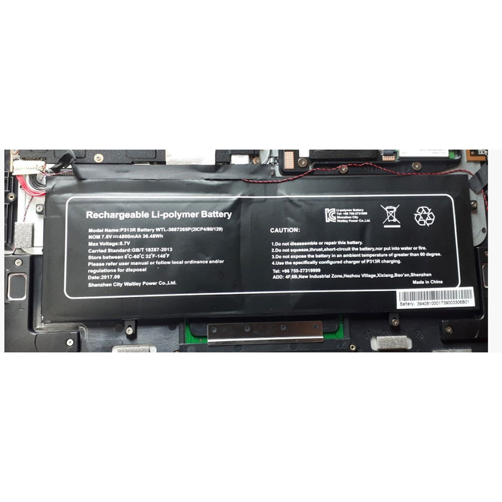 P313R battery