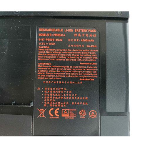 Clevo P650SA P650SE P650SG Sager NP8650 NP8651 NP8652 battery