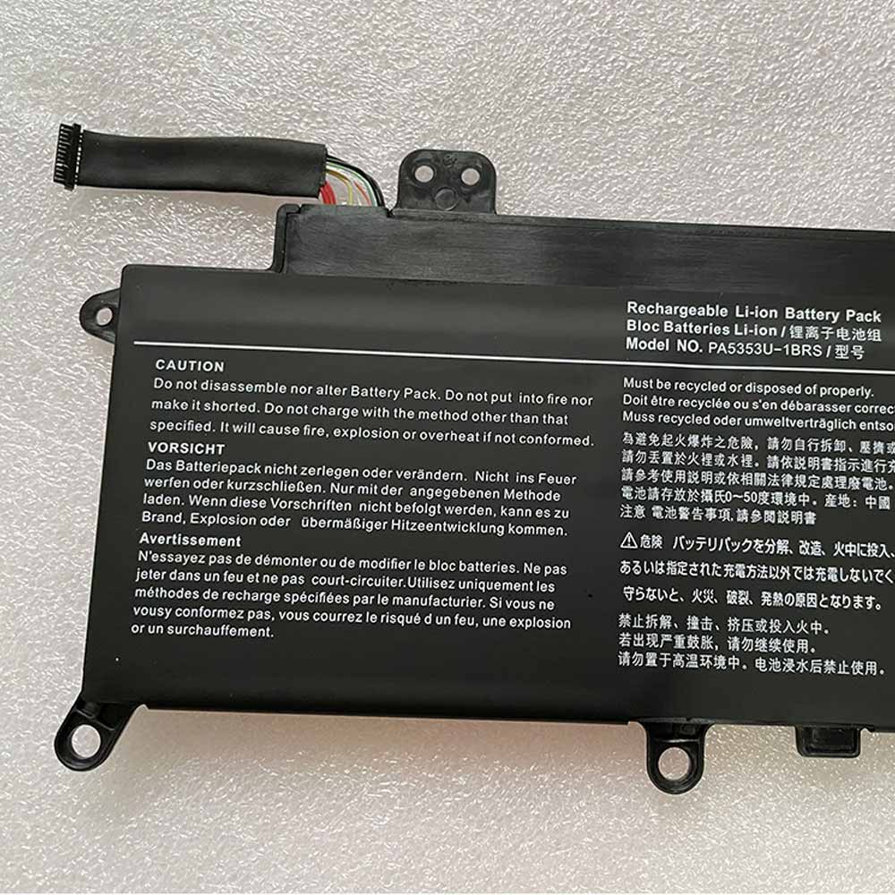 Toshiba Dynabook X30 F X50 F battery