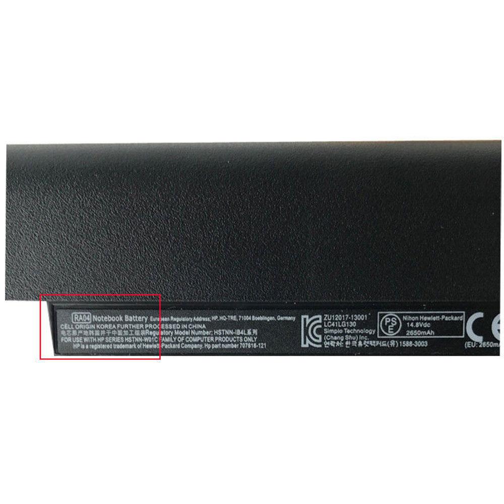 RA04 battery