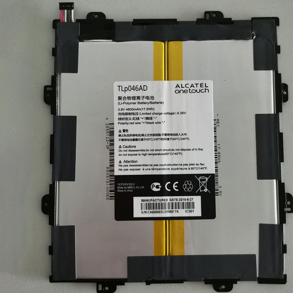 Alcatel onetouch TLP046AD battery