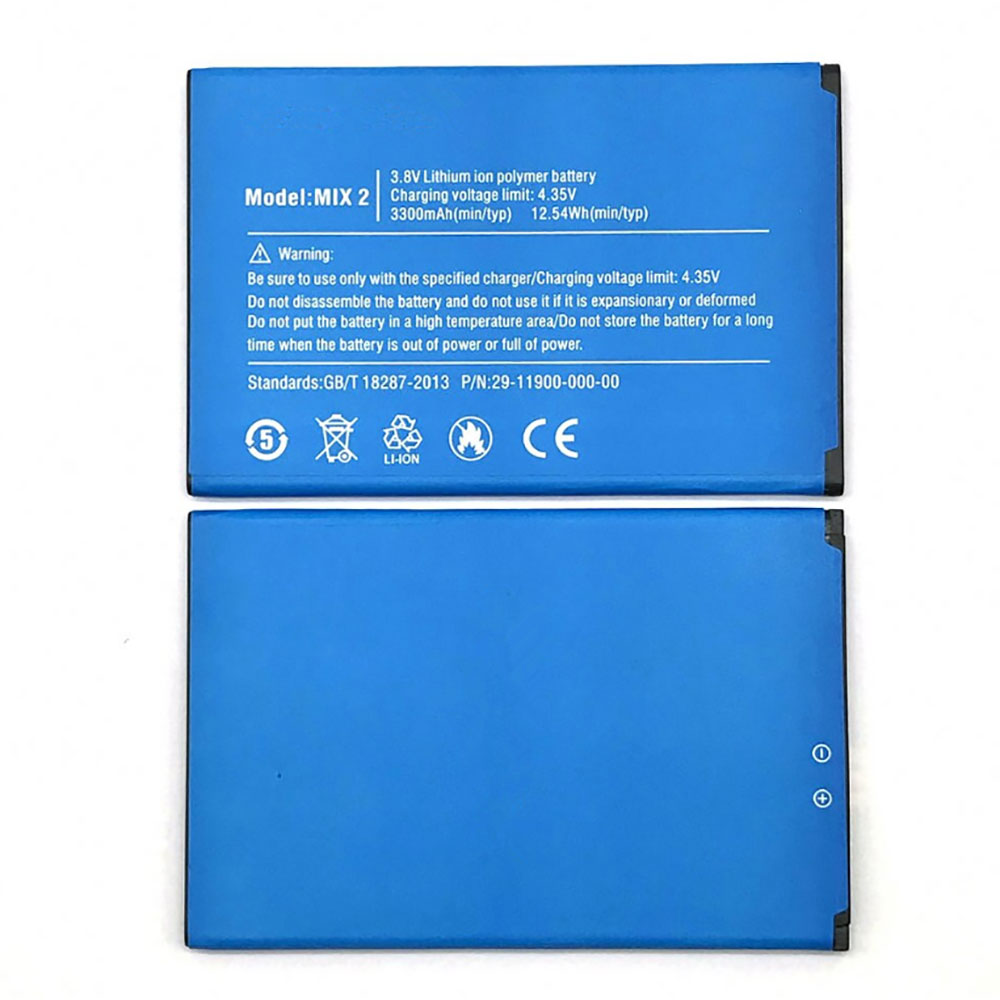 MIX2 battery