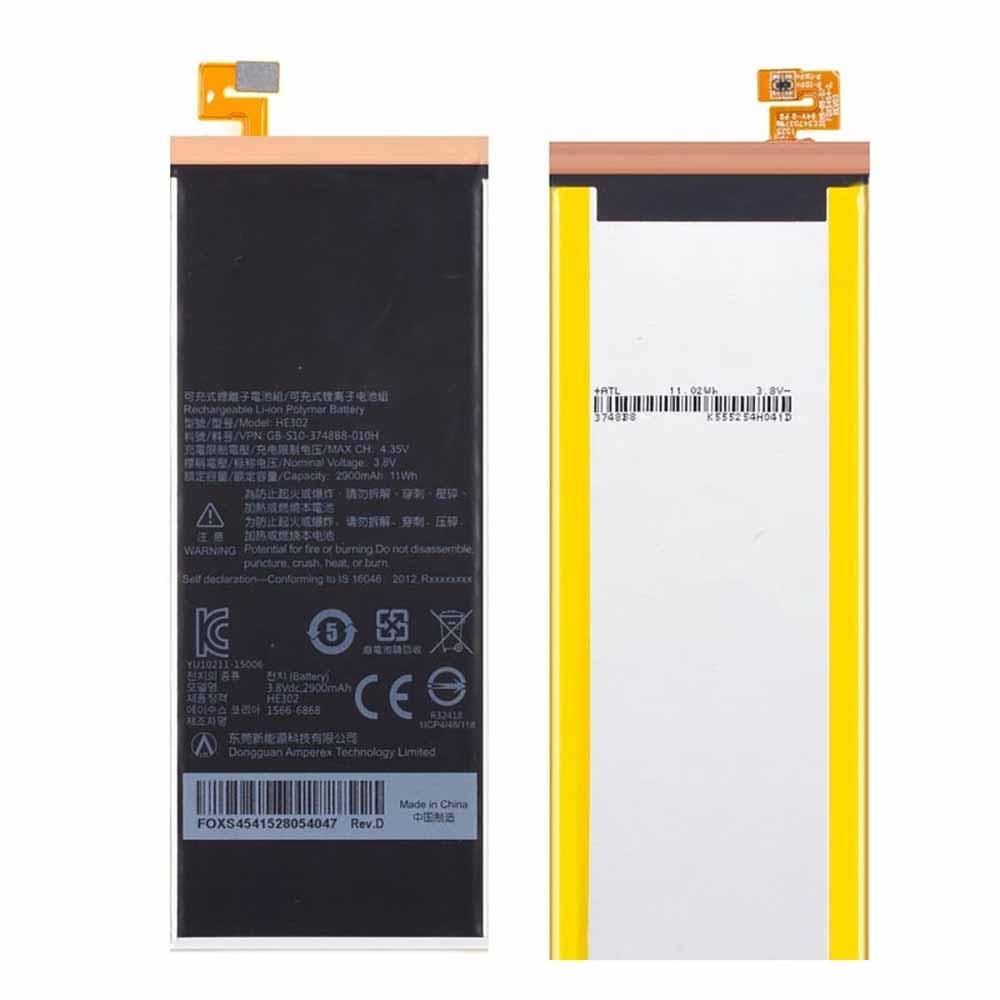 HE302 battery