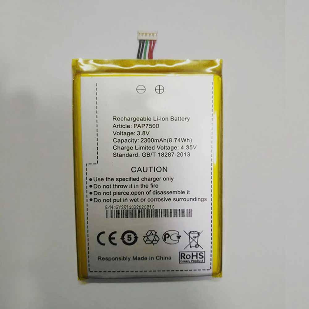 Prestigio pap7500 Battery