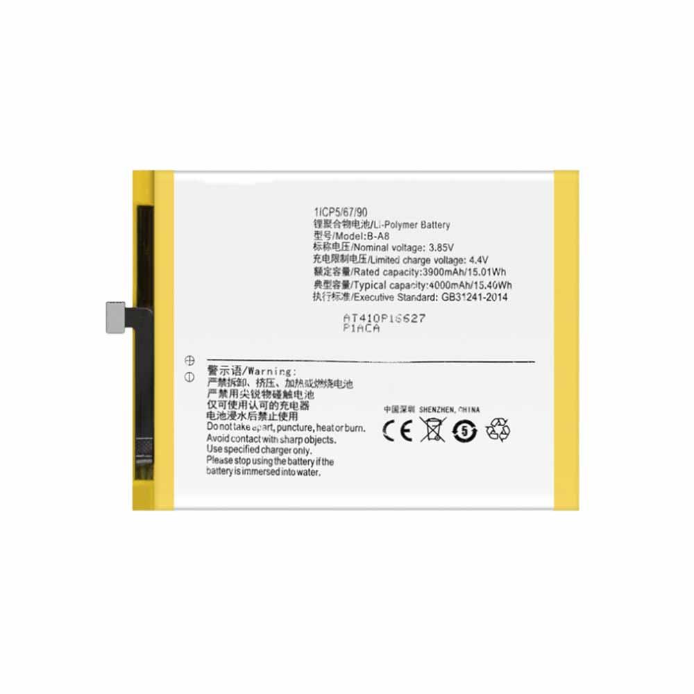 B-A8 battery
