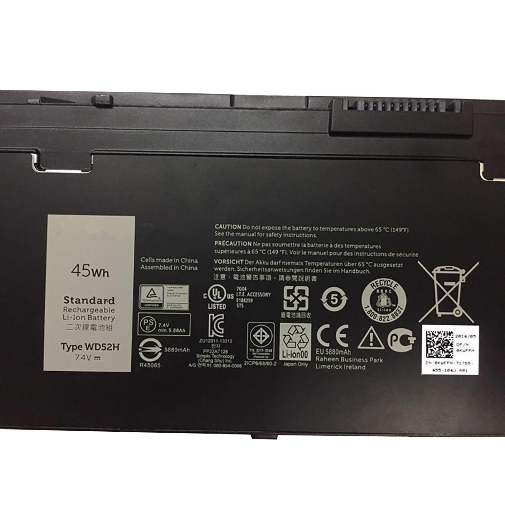 WD52H battery