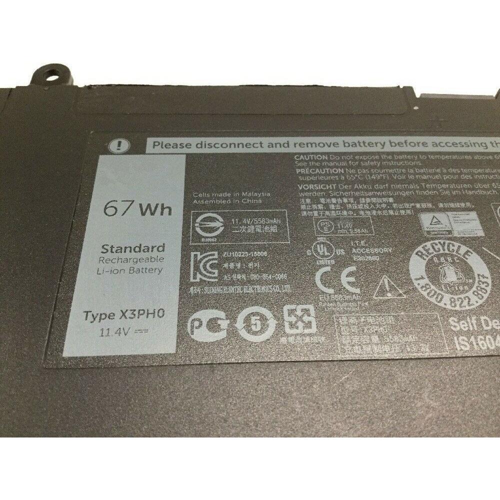 X3PH0 battery